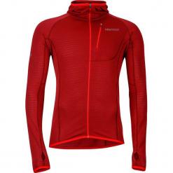 """Kurtka polarowa """"Neothermo"""" w kolorze czerwonym. Czerwone kurtki męskie marki Marmot, m, z polaru. W wyprzedaży za 363,95 zł."""
