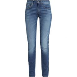 GStar DECONSTRUCTED SKINNY Jeans Skinny Fit medium aged. Niebieskie jeansy damskie relaxed fit marki G-Star, z bawełny. Za 559,00 zł.
