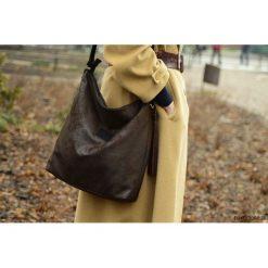 Shopper bag damskie: Shopper Czekolada