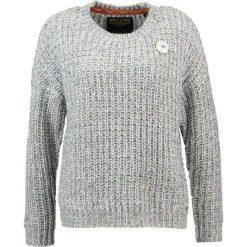 Swetry klasyczne damskie: khujo THORA Sweter greymelange