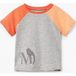 T-shirty chłopięce: Mango Kids – T-shirt dziecięcy Paul 80-104 cm