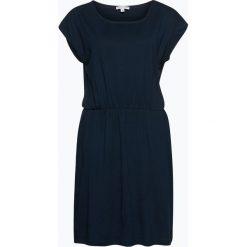 Marie Lund - Sukienka damska, niebieski. Niebieskie sukienki z falbanami Marie Lund, xs, z dżerseju. Za 89,95 zł.