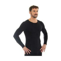 Koszulki sportowe męskie: Brubeck Koszulka męska z długim rękawem COMFORT WOOL grafitowa r. XL (LS11600)