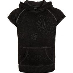 Replay Bluza z kapturem nearly black. Czarne bluzy chłopięce rozpinane Replay, z bawełny, z kapturem. W wyprzedaży za 260,10 zł.