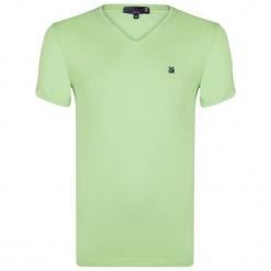 Giorgio Di Mare T-Shirt Męski Xxl Jasnozielony. Niebieskie t-shirty męskie marki Oakley, na lato, z bawełny, eleganckie. Za 72,00 zł.