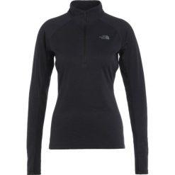 The North Face AMBITION ZIP Koszulka sportowa black heather. Czarne topy sportowe damskie marki The North Face, xs, z materiału. W wyprzedaży za 239,20 zł.