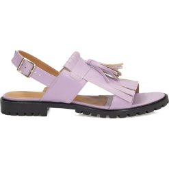 Sandały damskie: Wrzosowe sandały damskie