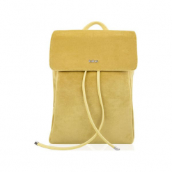 PLECAK LAGO ŻÓŁTY VIVIAN. Żółte plecaki damskie Felice, z materiału, eleganckie. Za 119,00 zł.