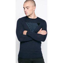 Swetry klasyczne męskie: Guess Jeans – Sweter