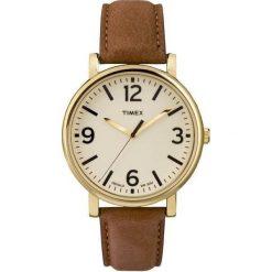 Zegarek Timex Męski  T2P527 Modern Originals Indiglo brązowy. Brązowe zegarki męskie Timex. Za 233,99 zł.