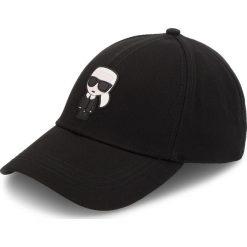 Czapka z daszkiem KARL LAGERFELD - 81KW3408 Black. Czarne czapki z daszkiem męskie KARL LAGERFELD. Za 229,00 zł.