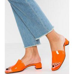 Chodaki damskie: L'INTERVALLE OTTAVIA Klapki neon orange