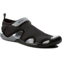 Sandały męskie skórzane: Sandały CROCS – Swiftwater Mesh Sandal W 204597 Black