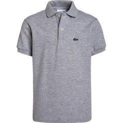 Lacoste PJ290900 Koszulka polo silver chine. Szare bluzki dziewczęce bawełniane marki Lacoste. Za 219,00 zł.