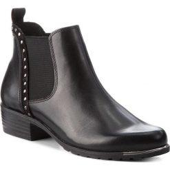 Sztyblety CAPRICE - 9-25310-21 Black Nappa 022. Czarne buty zimowe damskie Caprice, z materiału. W wyprzedaży za 279,00 zł.