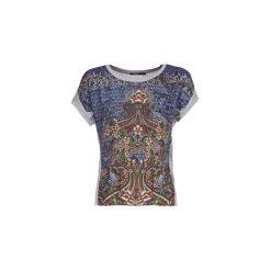T-shirty z krótkim rękawem Desigual  PI. Szare t-shirty damskie Desigual, l. Za 219,00 zł.