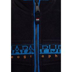 Napapijri TAMBO FULL Kurtka z polaru blu marine. Niebieskie kurtki chłopięce marki Napapijri, z materiału, marine. W wyprzedaży za 271,20 zł.