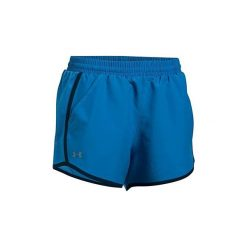 Szorty i Bermudy  Under Armour  Fly By Short 3'' 1297125-437. Niebieskie bermudy damskie Under Armour. Za 89,99 zł.