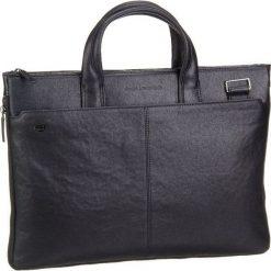 Piquadro BLACK SQUARE Aktówka black. Czarne torby na laptopa Piquadro. Za 1089,00 zł.