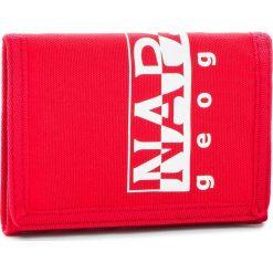 Duży Portfel Męski NAPAPIJRI - Happy Wallet 1 N0YI0K Pop Red R41. Czerwone portfele męskie marki Napapijri, z materiału. Za 89,00 zł.