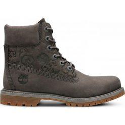 Buty Timberland 6 Inch Premium Boot Women (A1K3P). Szare buty sportowe damskie marki Timberland, z materiału, outdoorowe. Za 529,99 zł.