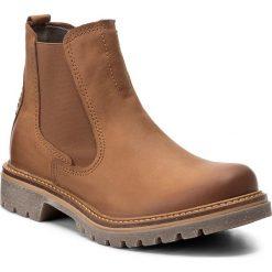 Sztyblety CAMEL ACTIVE - Canberra 873.72.02 Brandy. Brązowe buty zimowe damskie marki Camel Active, z materiału. W wyprzedaży za 359,00 zł.