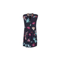 Sukienki krótkie Desigual  LAEOKLE. Szare sukienki mini marki Desigual, l, z tkaniny, casualowe, z długim rękawem. Za 335,30 zł.