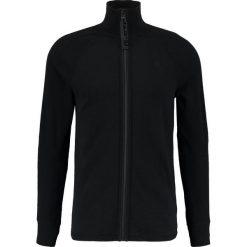 GStar JIRGI ZIP THRU T L/S Kardigan black. Czarne kardigany męskie marki G-Star, l, z bawełny. Za 369,00 zł.
