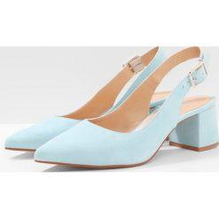 Buty ślubne damskie: Gardenia CUPITER  Czółenka sky blue