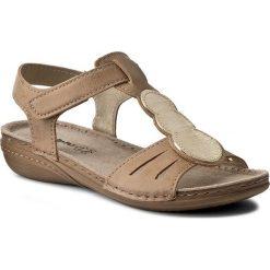 Rzymianki damskie: Sandały INBLU – VC257R33 Beżowy