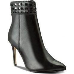 Botki EVA MINGE - Alita 2D 17SF1372276EF 101. Czarne buty zimowe damskie Eva Minge, ze skóry, na obcasie. W wyprzedaży za 249,00 zł.