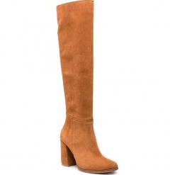 Muszkieterki R.POLAŃSKI - 0973 Rudy 475 Zamsz. Czarne buty zimowe damskie marki R.Polański, ze skóry, na obcasie. W wyprzedaży za 299,00 zł.