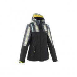 Kurtka narciarska i snowboardowa ROXY SNOW SIDE damska. Białe kurtki damskie Roxy, l, z nadrukiem, z materiału. W wyprzedaży za 499,99 zł.