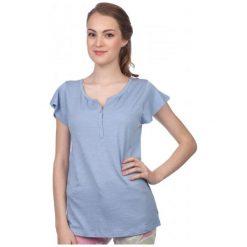 S.Oliver T-Shirt Damski 38 Niebieski. Niebieskie t-shirty damskie marki S.Oliver, s. W wyprzedaży za 48,00 zł.