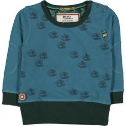 """Bluza """"Cameras And Rocks"""" w kolorze ciemnozielono-niebieskim. Niebieskie bluzy niemowlęce 4FunkyFlavours Kids. W wyprzedaży za 82,95 zł."""