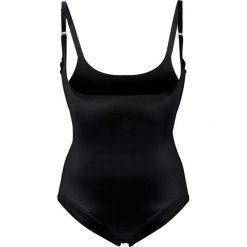 Body wyszczuplające Level 2 bonprix czarny. Czarne bluzki body bonprix, z haftami. Za 89,99 zł.