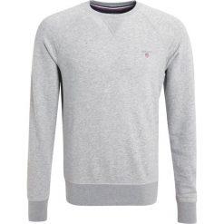 GANT ORIGINAL CNECK Bluza grey melange. Szare kardigany męskie marki GANT, m, z bawełny. W wyprzedaży za 341,10 zł.