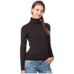Swetry klasyczne damskie: S.Oliver Sweter Damski 34 Czarny