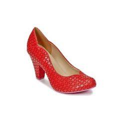 Czółenka Cristofoli  JULY. Czerwone buty ślubne damskie Cristofoli. Za 468,30 zł.