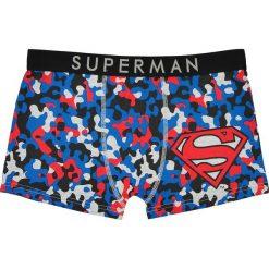 Bokserki męskie: Bokserki w moro z nadrukiem Supermana, komplet 2 pary