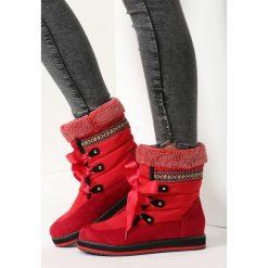 Czerwone Śniegowce Shake It Baby. Czerwone buty zimowe damskie vices. Za 69,99 zł.