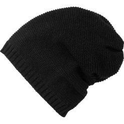Czapka dzianinowa beanie bonprix czarny. Czarne czapki zimowe damskie bonprix, z dzianiny. Za 37,99 zł.