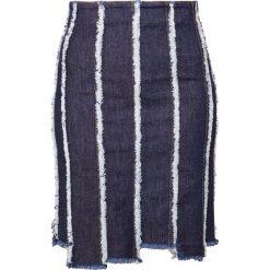 House of Dagmar LIVA Spódnica jeansowa blue denim. Niebieskie spódniczki jeansowe marki House of Dagmar. W wyprzedaży za 567,20 zł.