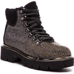Trapery EVA MINGE - Antequera 4B 18IN1372526EF 617. Czarne buty zimowe damskie Eva Minge, z materiału. W wyprzedaży za 379,00 zł.