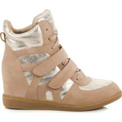 Trampki damskie slip on: Trampki sneakersy KAIA