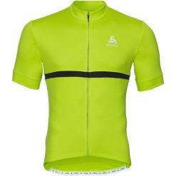 Odlo Koszulka rowerowa Shirt s/s full zip Fujin C/O zielona r. M (411262/40191). Koszulki sportowe męskie Odlo, m. Za 141,75 zł.