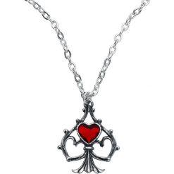 Naszyjniki damskie: Alchemy Gothic Lucky In Love Naszyjnik srebrny
