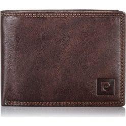 Brązowy Portfel męski Pierre Cardin Lukas RFID. Brązowe portfele męskie Pierre Cardin, z materiału. Za 119,00 zł.