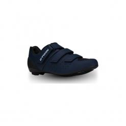 Buty na rower szosowy RoadRacing 500. Niebieskie buty skate męskie B'TWIN, z poliamidu, rowerowe. Za 219,99 zł.