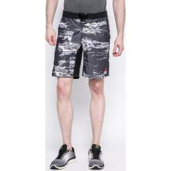 Reebok - Szorty Super Nasty Crossfit. Szare spodenki sportowe męskie marki Reebok, l, z dzianiny, z okrągłym kołnierzem. W wyprzedaży za 159,90 zł.